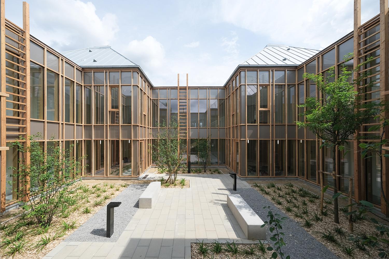 bois lamellé construction bois structure bois santé pole médical