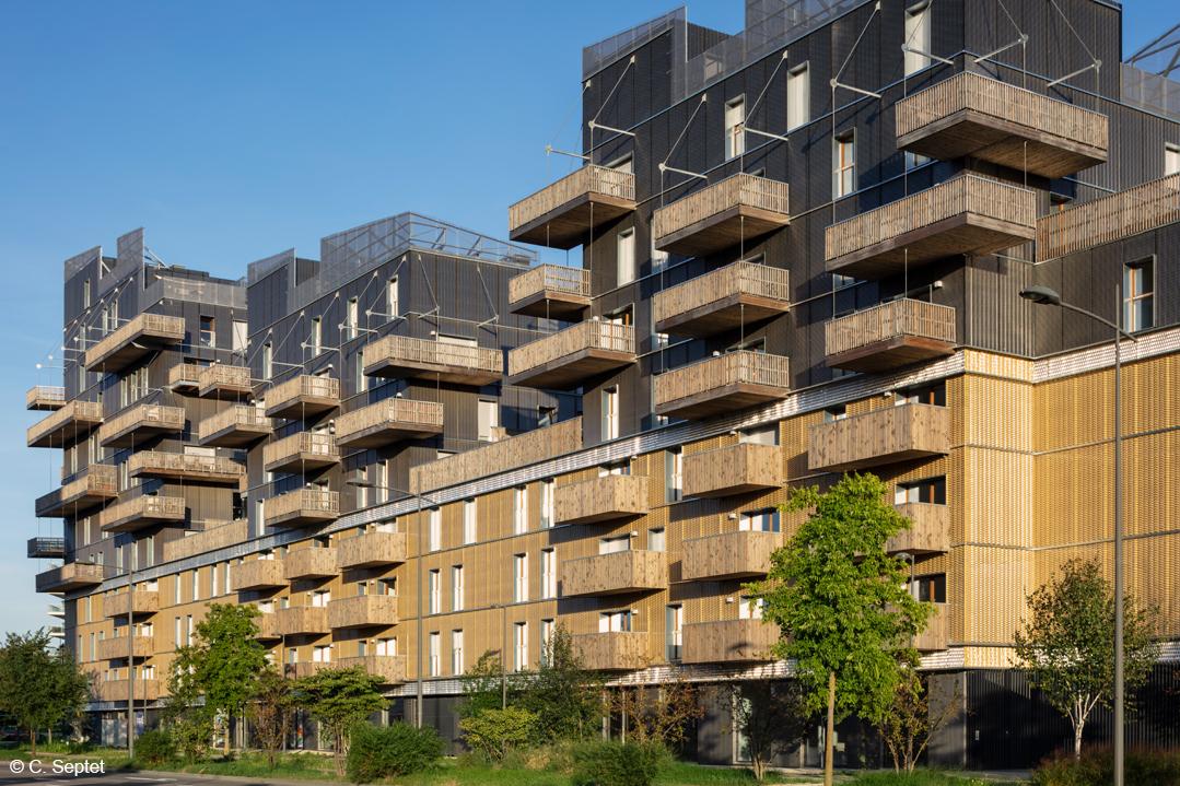 bois lamellé immeuble grande hauteur structure bois