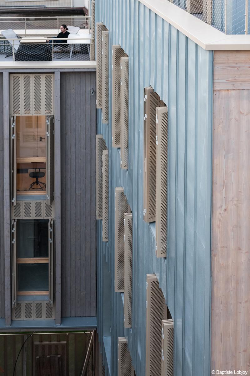 bois lamellé construction immeuble en bois paris structure bois