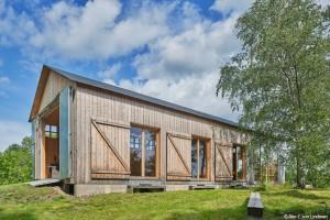 bois lamellé lauréat Swedish Wood Award 2020 Ateljé-i-Södersvik