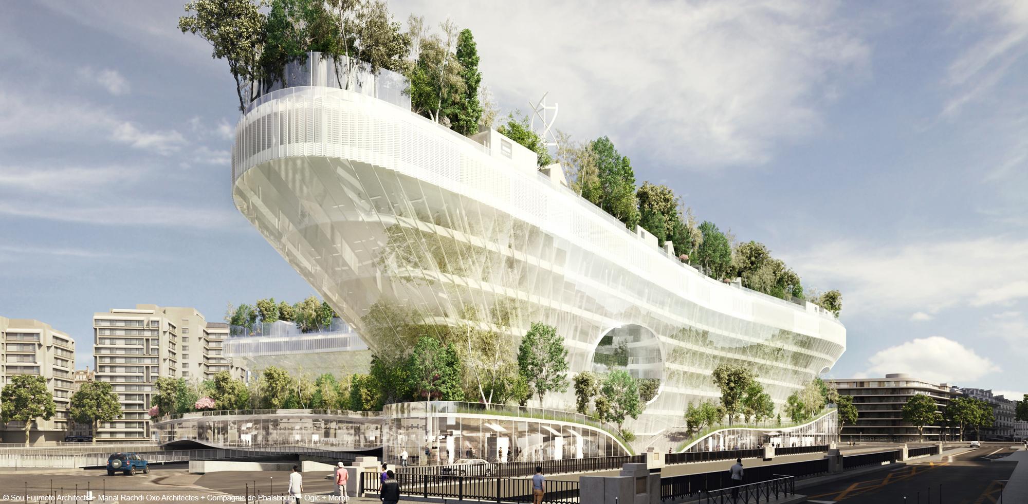 Mille arbres porte Maillot logements en structure bois