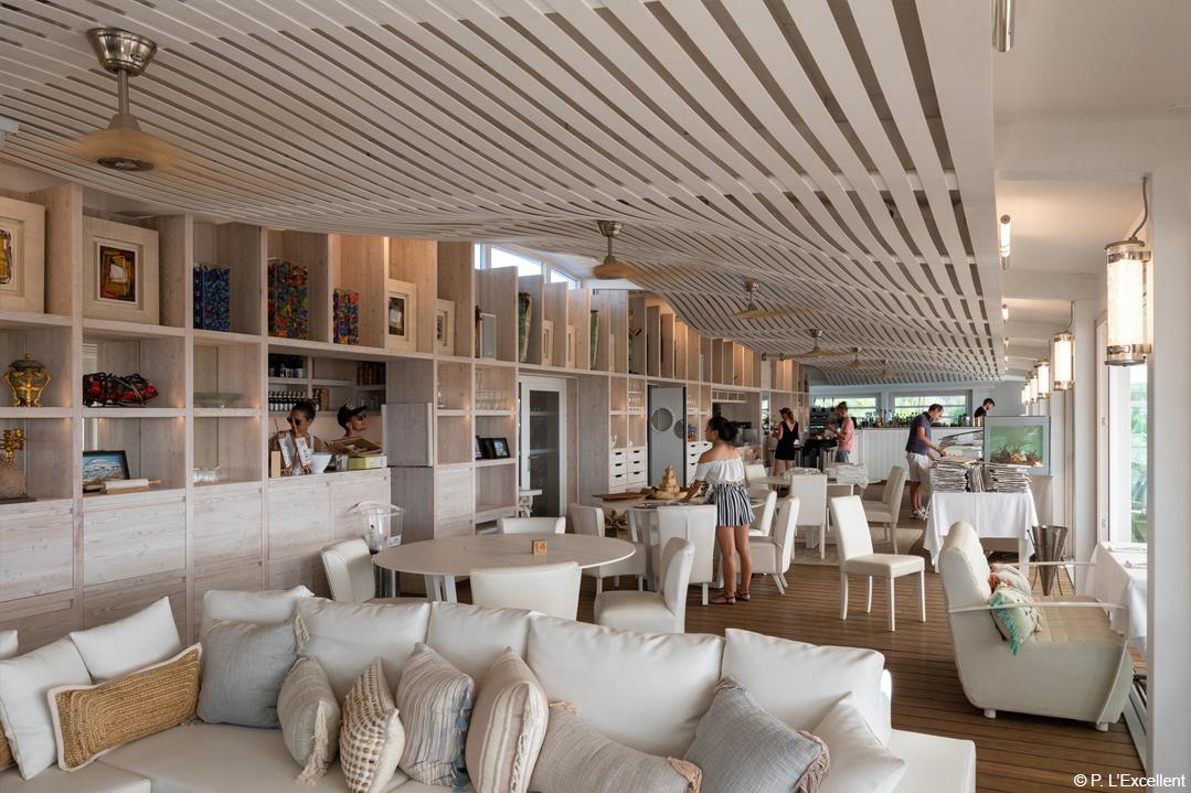 restaurant réversible en bois lamellé construction biosourcée