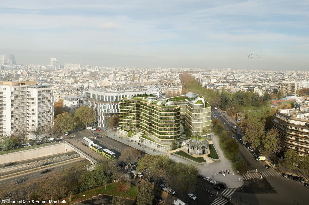 construction du futur structure bois lamellé paris