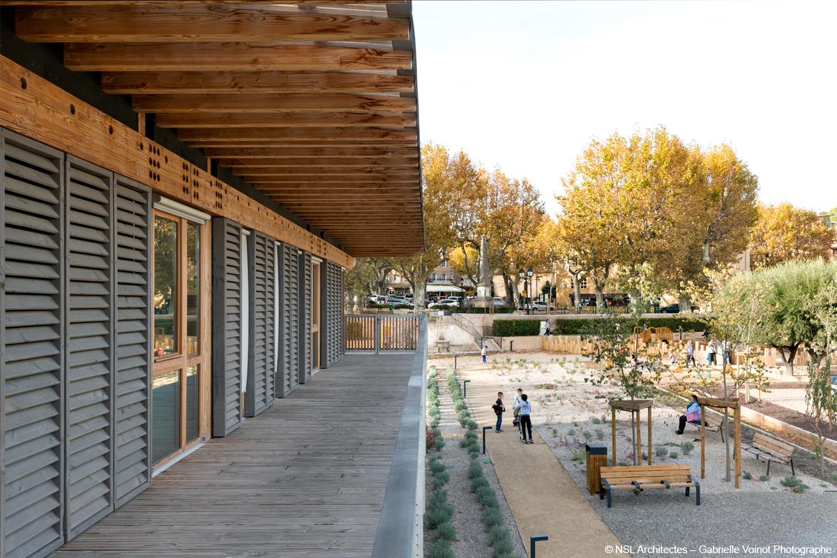 maison de santé en bois lamellé construction bois structure mixte bois béton