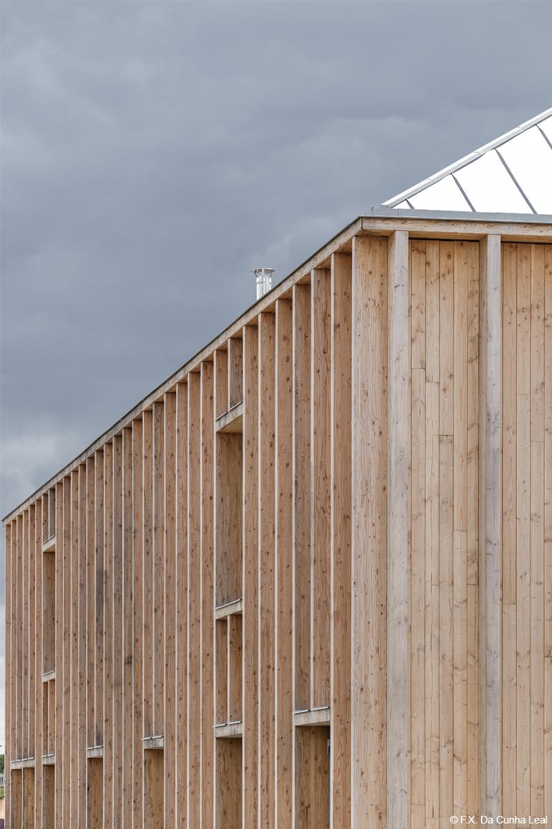 bois lamellé construction bois pôle médical