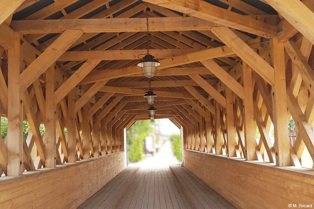 hôtel resort en bois lamellé architecture bois