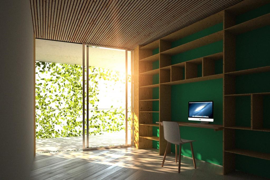 Le bois signe l'expression architecturale du projet et contribue, évidemment, à une ambiance et un style séduisants.
