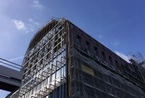 bois lamellé architecture immeuble de bureaux atelier anne carcelen