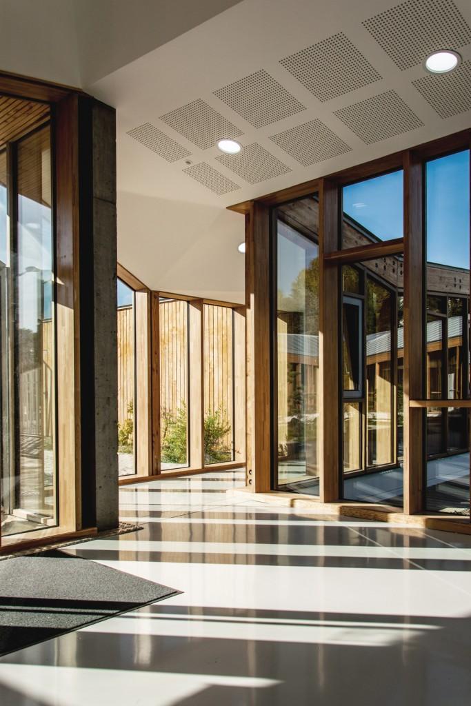 DOJO bois lamellé - Nomade Architectes